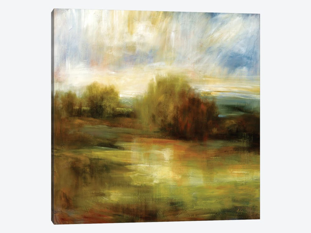 John's Field by Simon Addyman 1-piece Canvas Art