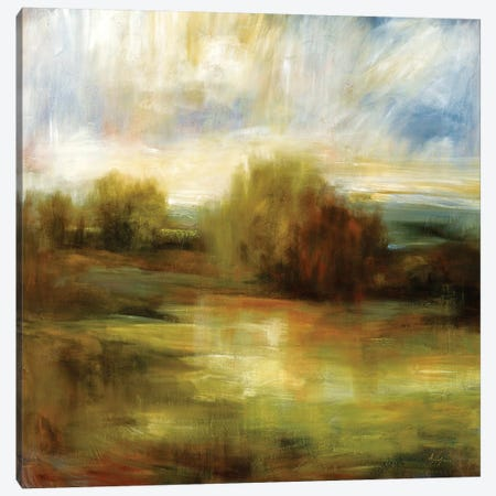 John's Field Canvas Print #SAD10} by Simon Addyman Art Print