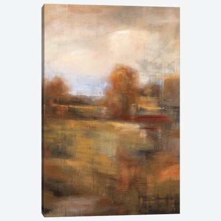 Painter's Land Canvas Print #SAD17} by Simon Addyman Canvas Wall Art