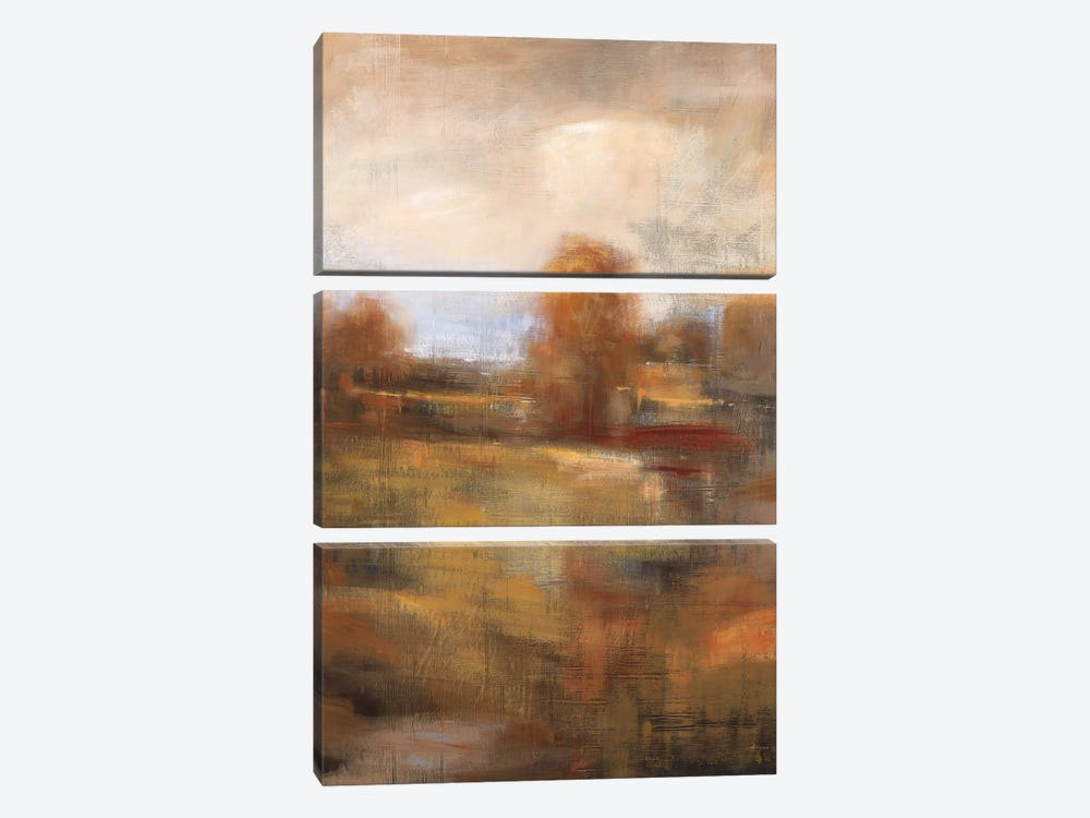 Painter's Land by Simon Addyman 3-piece Canvas Art Print
