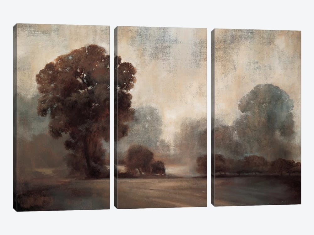 Sepia 3-piece Canvas Print
