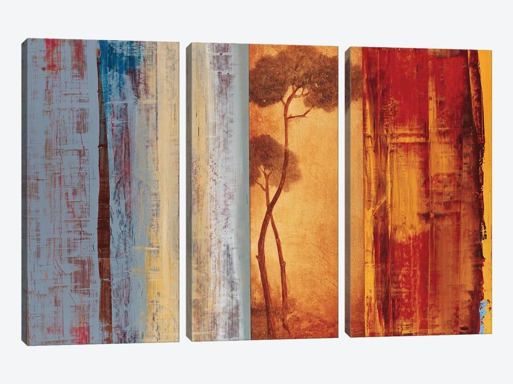 Shadows & Lines I by Simon Addyman 3-piece Canvas Wall Art