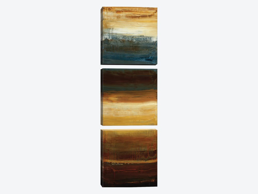 Small Shift II by Simon Addyman 3-piece Canvas Wall Art