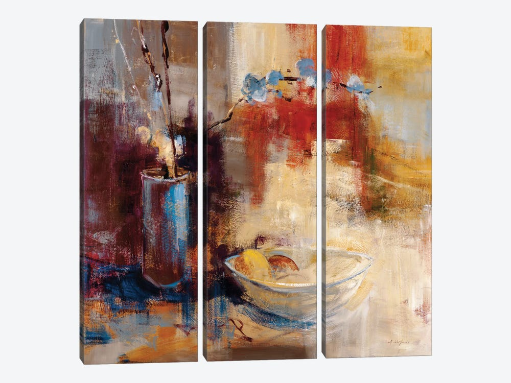 Still Life I by Simon Addyman 3-piece Canvas Art