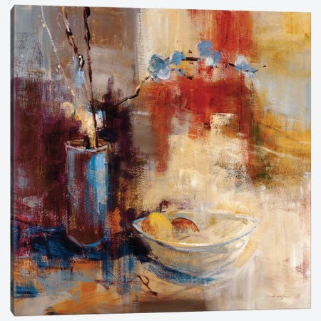 Still Life I 3-Piece Canvas #SAD27} by Simon Addyman Canvas Print
