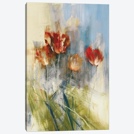 Tulips 3-Piece Canvas #SAD30} by Simon Addyman Art Print