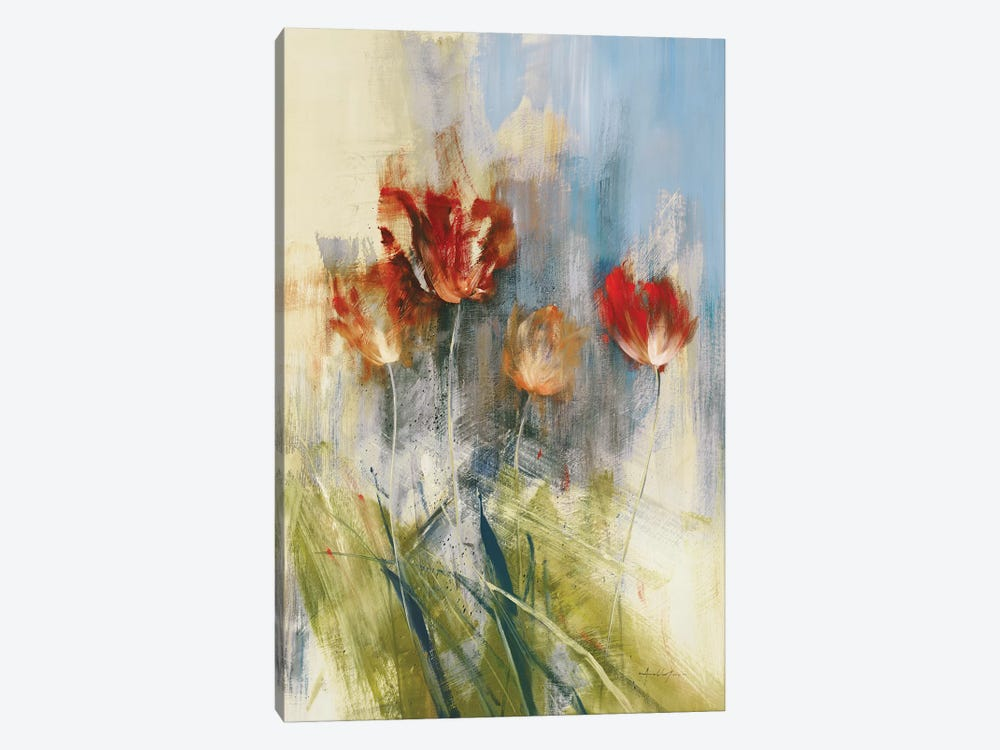 Tulips by Simon Addyman 1-piece Canvas Artwork