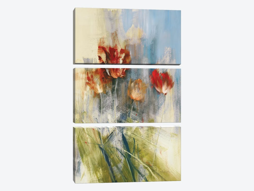 Tulips by Simon Addyman 3-piece Canvas Art