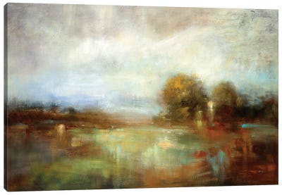 Painter's Land III Canvas Art Print