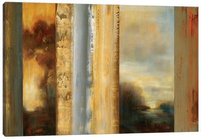 Split Landscape Canvas Art Print