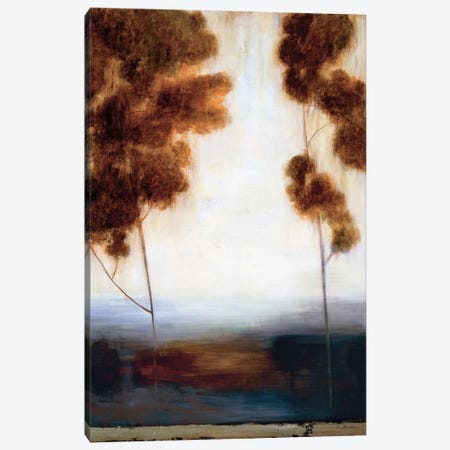Through The Trees II 3-Piece Canvas #SAD45} by Simon Addyman Canvas Print