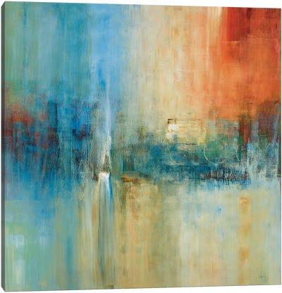 Blue Cascade Canvas Art Print