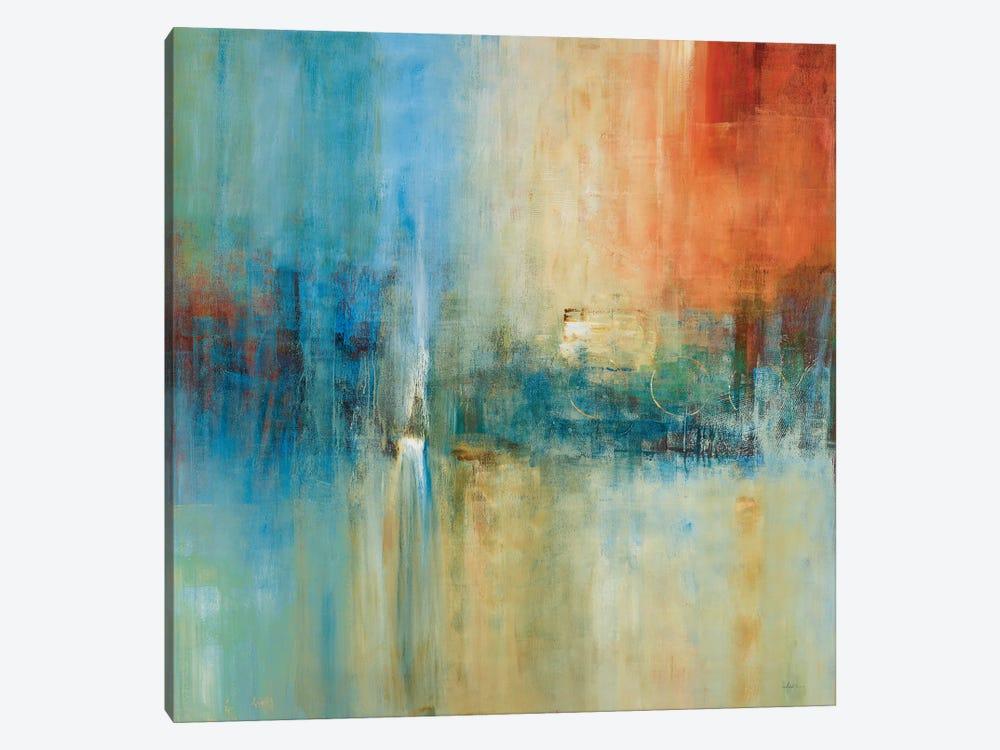 Blue Cascade by Simon Addyman 1-piece Canvas Artwork