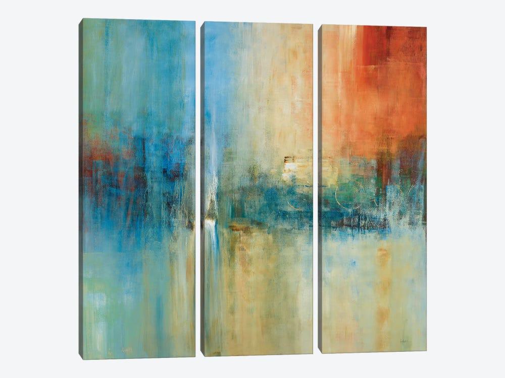 Blue Cascade by Simon Addyman 3-piece Canvas Wall Art