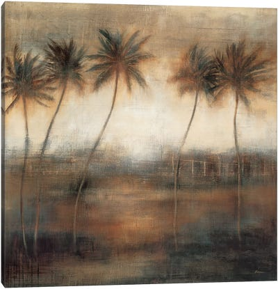 Five Palms Canvas Art Print