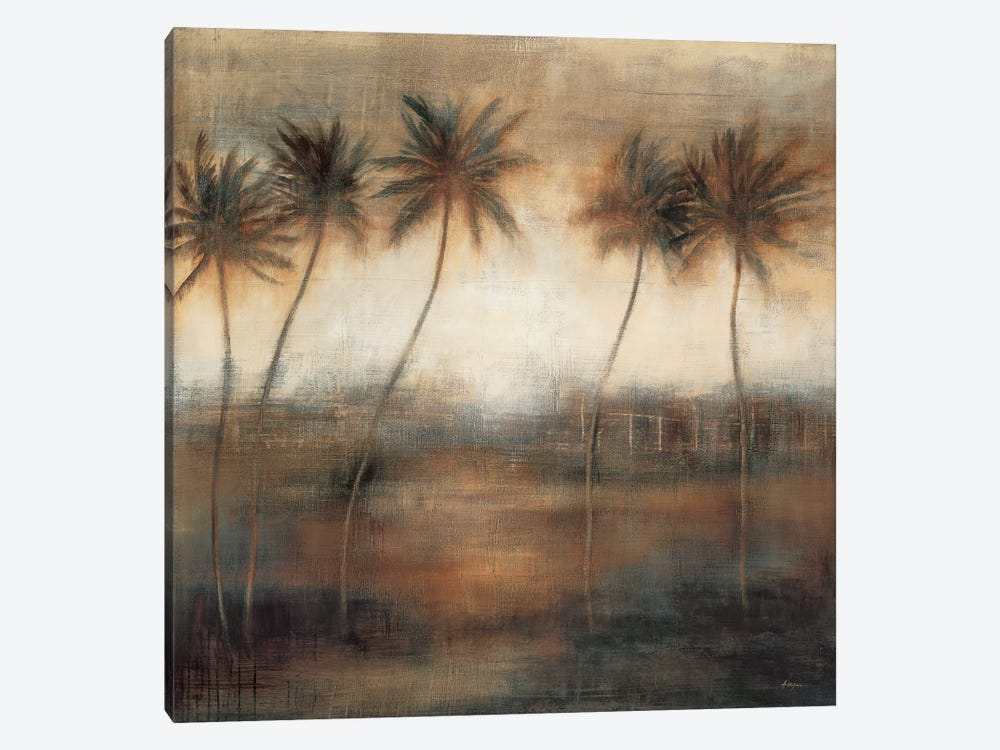 Five Palms by Simon Addyman 1-piece Canvas Print