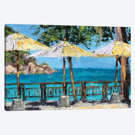 View From The Coast Canvas Print #SAE11} by Leslie Saeta Canvas Artwork