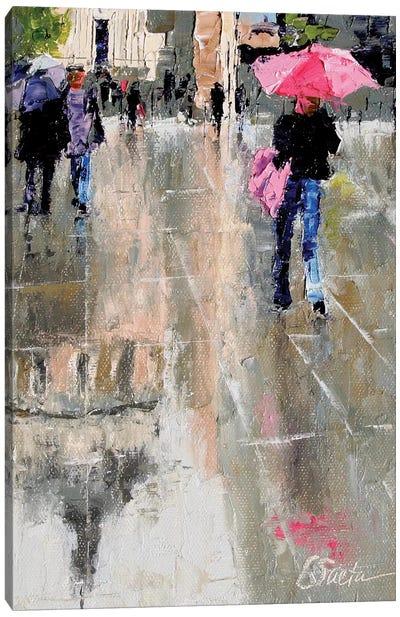 City Hall Reflections Canvas Art Print