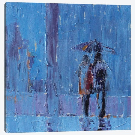Stormy Weather Canvas Print #SAE8} by Leslie Saeta Canvas Art