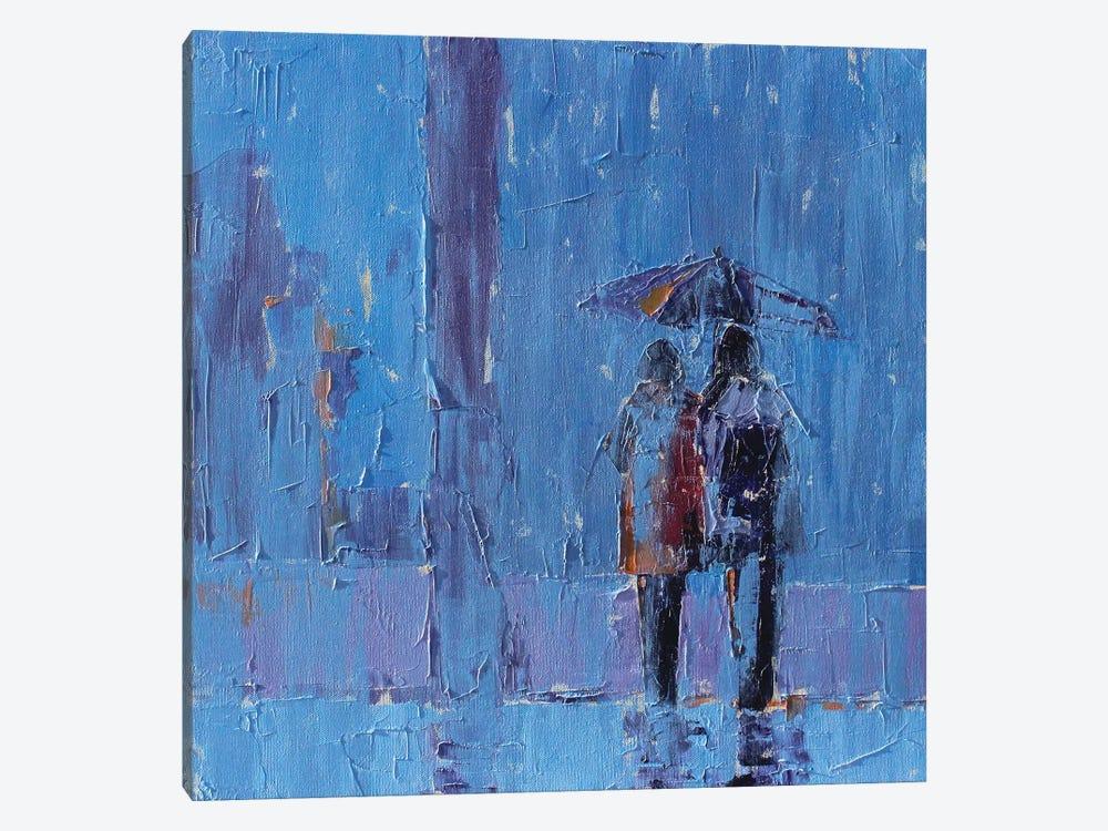 Stormy Weather by Leslie Saeta 1-piece Canvas Art Print