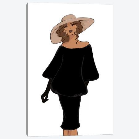 Vintage Inspired So Vogue 3-Piece Canvas #SAF107} by Sabina Fenn Canvas Art