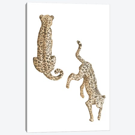 Leopards Canvas Print #SAF123} by Sabina Fenn Canvas Art Print