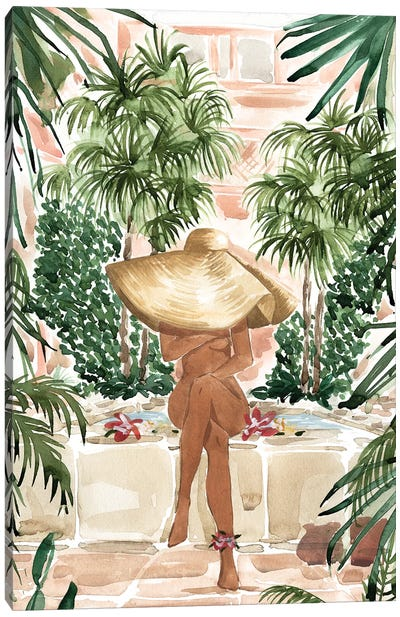 Vacation Mode Canvas Art Print