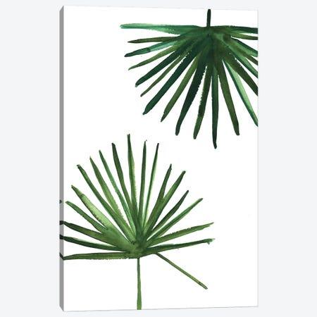 Windmill Palms 3-Piece Canvas #SAF140} by Sabina Fenn Canvas Print