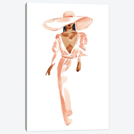 Janelle 3-Piece Canvas #SAF142} by Sabina Fenn Canvas Print
