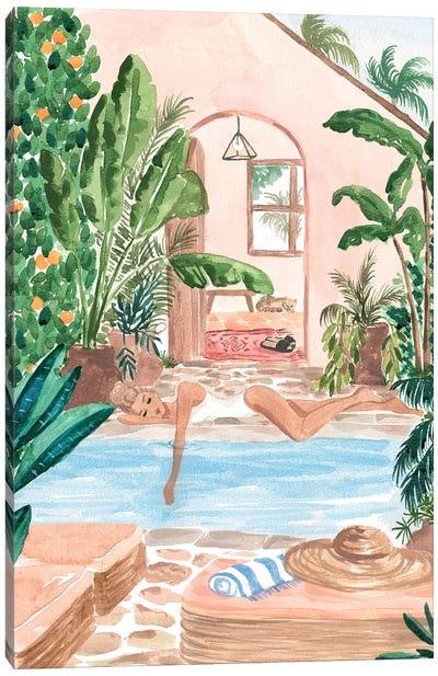 Sun Siesta Canvas Art Print