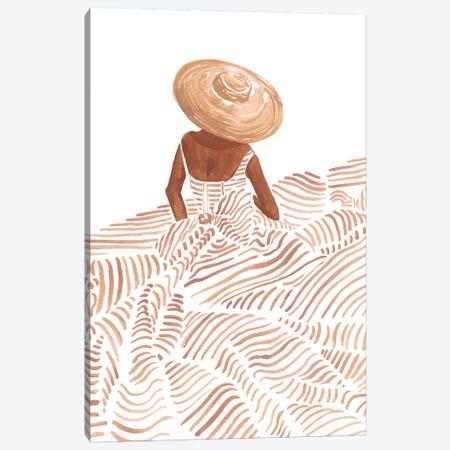 Madame Fleur Canvas Print #SAF146} by Sabina Fenn Canvas Artwork