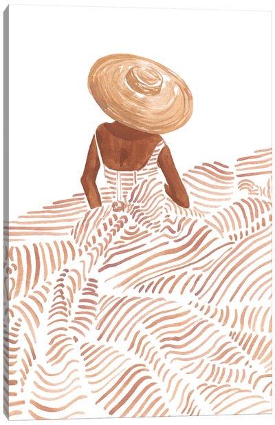 Madame Fleur Canvas Art Print