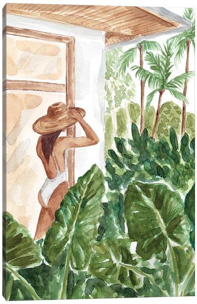 Woke Up In The Jungle Canvas Art Print