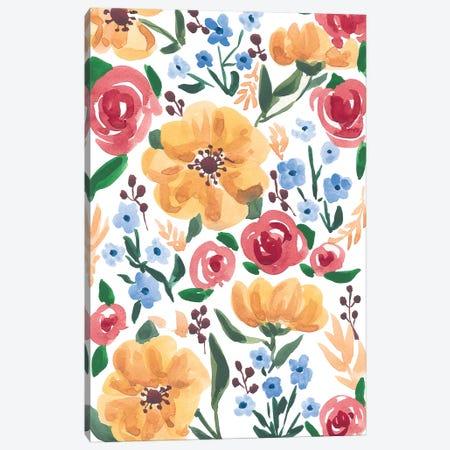 Flora II Canvas Print #SAF153} by Sabina Fenn Canvas Art