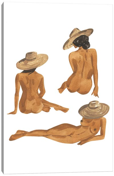 Figure Studies I Canvas Art Print