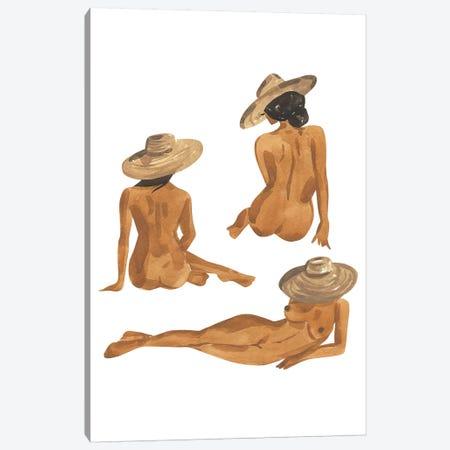 Figure Studies I Canvas Print #SAF155} by Sabina Fenn Canvas Print