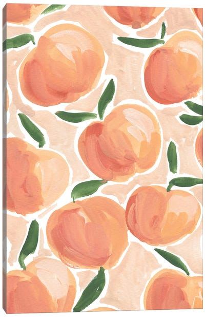 Pretty Peaches Canvas Art Print