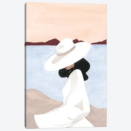 Sunset Dreamer Canvas Print #SAF158} by Sabina Fenn Canvas Wall Art