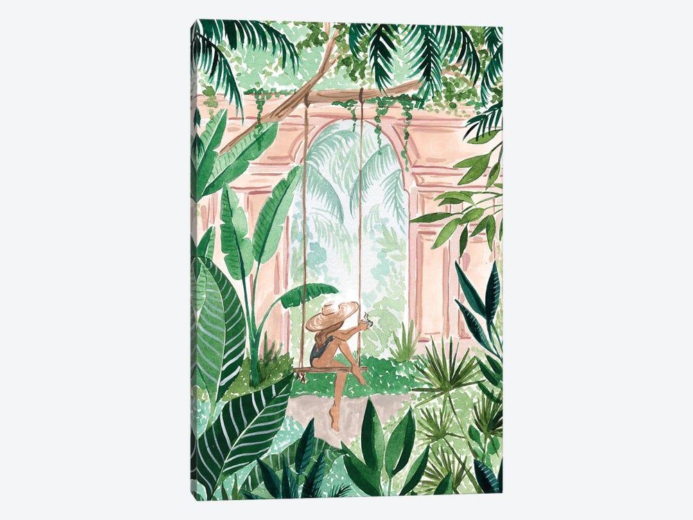 Swinging In The Jungle by Sabina Fenn 1-piece Canvas Wall Art
