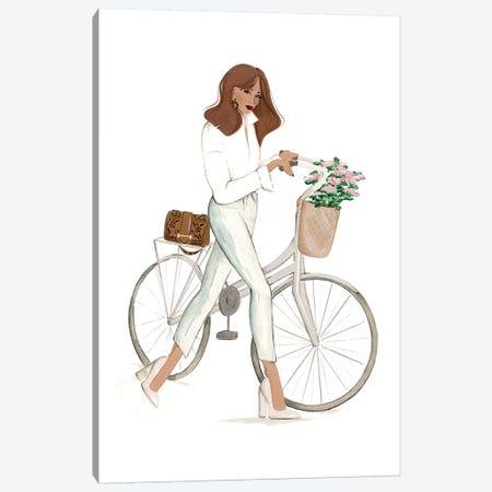 Bicyclette Canvas Print #SAF180} by Sabina Fenn Art Print