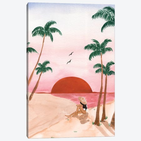 Sunset Dreamer II Canvas Print #SAF189} by Sabina Fenn Art Print