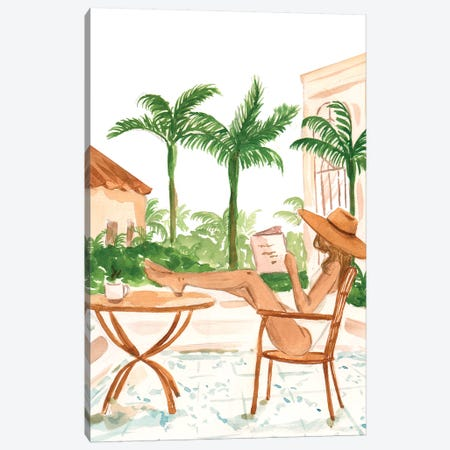 Vacation Mode II Canvas Print #SAF197} by Sabina Fenn Art Print