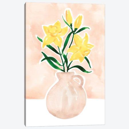Daffodils Canvas Print #SAF203} by Sabina Fenn Canvas Wall Art