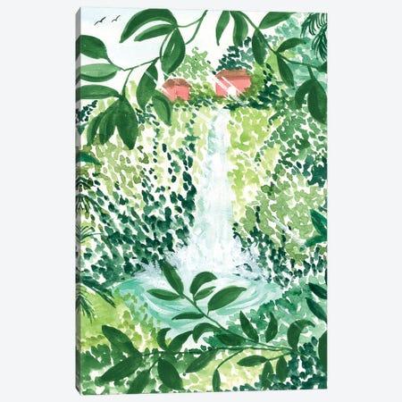 Waterfall Canvas Print #SAF205} by Sabina Fenn Canvas Print