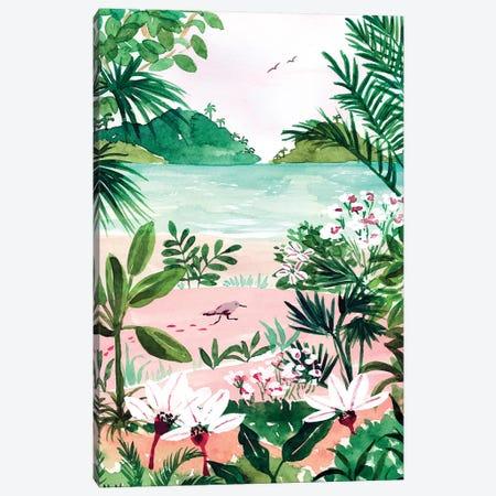 Seaside Meadow Canvas Print #SAF206} by Sabina Fenn Canvas Print