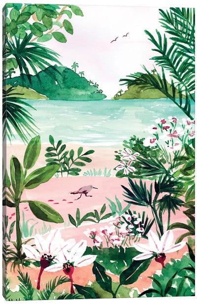 Seaside Meadow Canvas Art Print