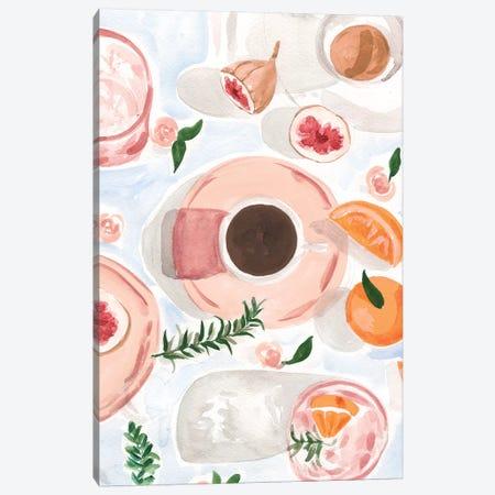Still Life With Coffee Canvas Print #SAF208} by Sabina Fenn Canvas Art