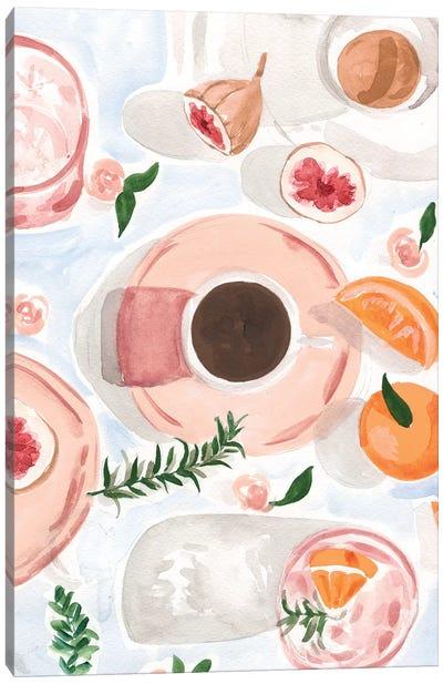 Still Life With Coffee Canvas Art Print