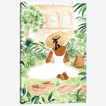 Gardener I 3-Piece Canvas #SAF212} by Sabina Fenn Canvas Art Print