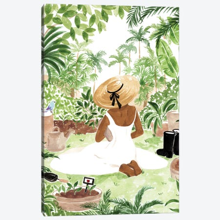 Gardener III Canvas Print #SAF213} by Sabina Fenn Canvas Art Print